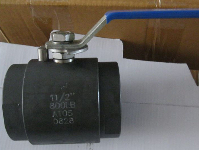 RPTFE Seat Floating Forged Steel Ball Valve A105N F304 F316 LF2 API 608 FB